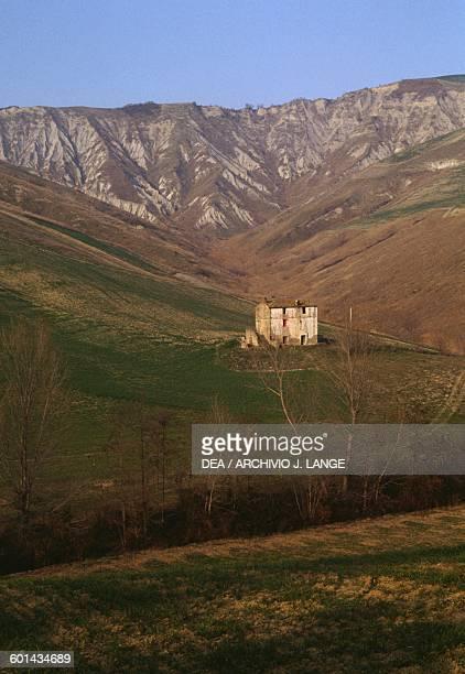 A farmhouse in the countryside near Cellino Attanasio Abruzzo Italy