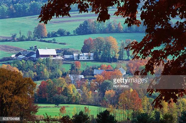 Farmland and Rural Town