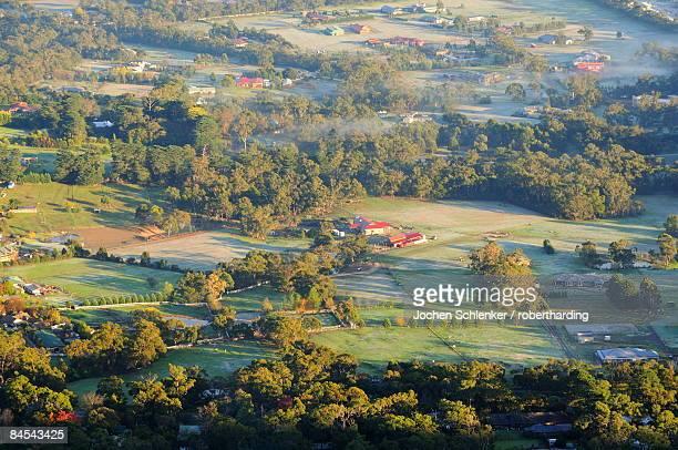 Farmland, Dandenong Ranges, Victoria, Australia, Pacific