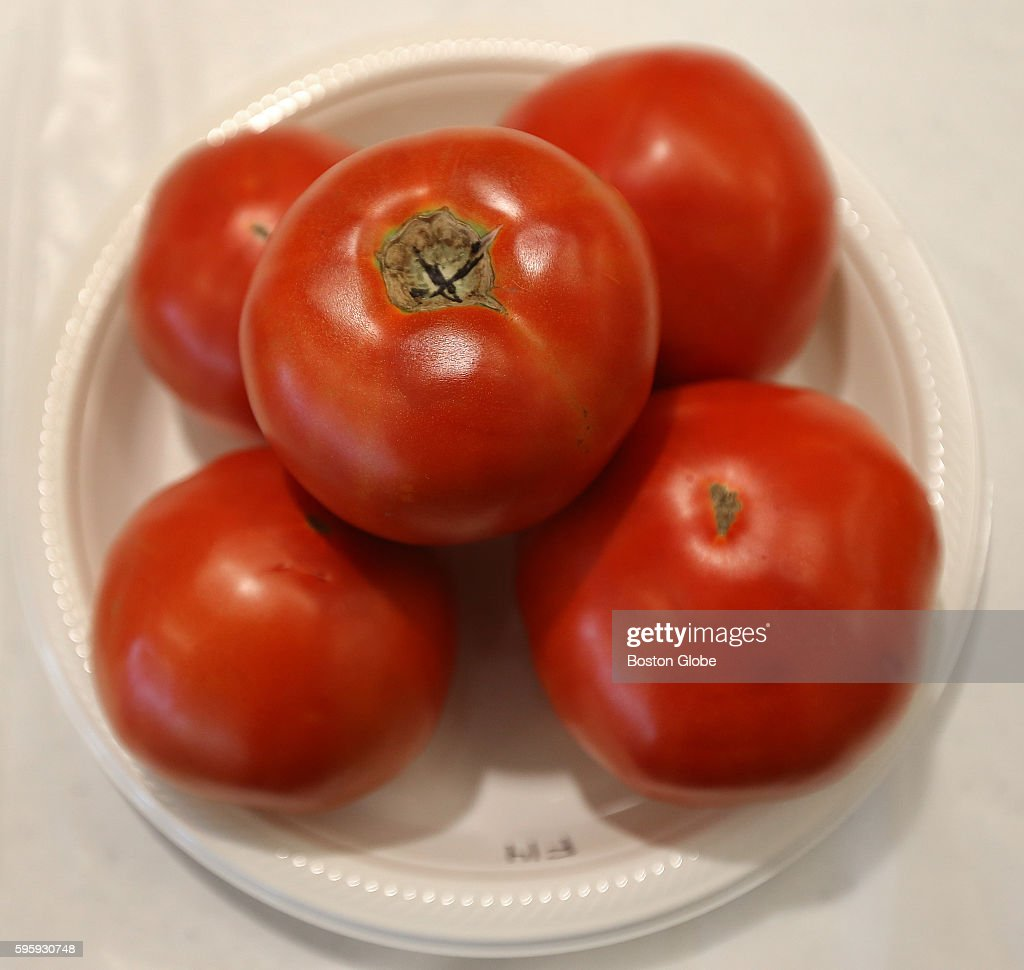Farms across the state submitted their top tomatoes for judging on flavor firmness and slicing quality exterior color and shape in the annual tomato...