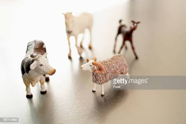 Farmyard Animal Toys
