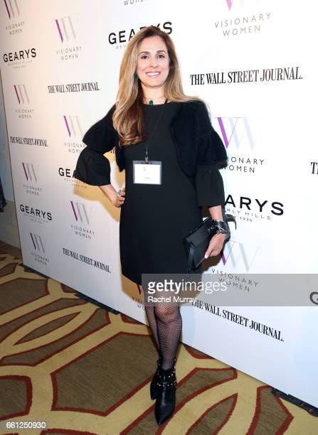Farnaz Abrishami attends the Visionary Women's Salon Mind Body and Soul at Montage Beverly Hills on March 30 2017 in Beverly Hills California