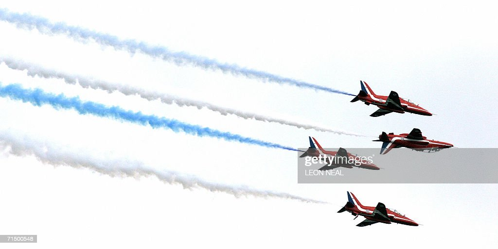 Farnborough United Kingdom  city photo : farnborough united kingdom the red arrow aerobatic display team on ...