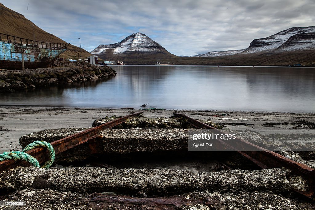 Faroe Islands - Fuglafjörður 2012 : Stock Photo