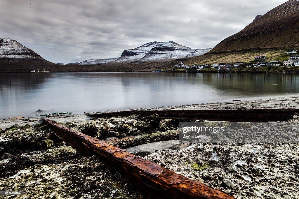 Faroe Islands - Fuglafjörður : Stock Photo