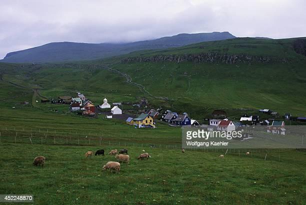 Faroe Islands Mykines Island Village
