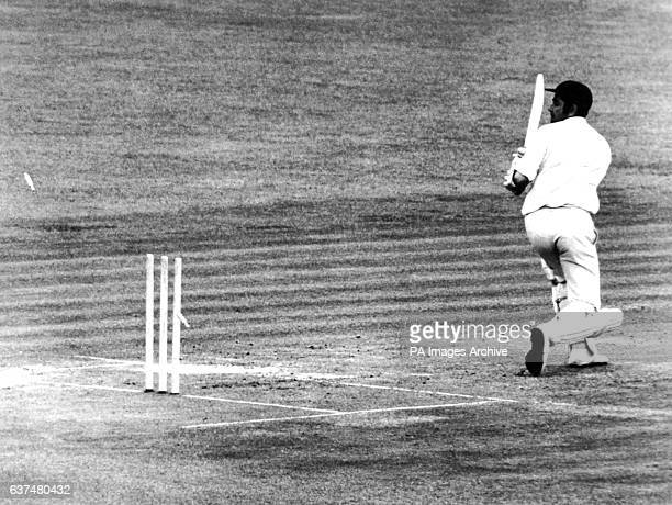 Farokh Engineer bowled by Bob Herman for 21