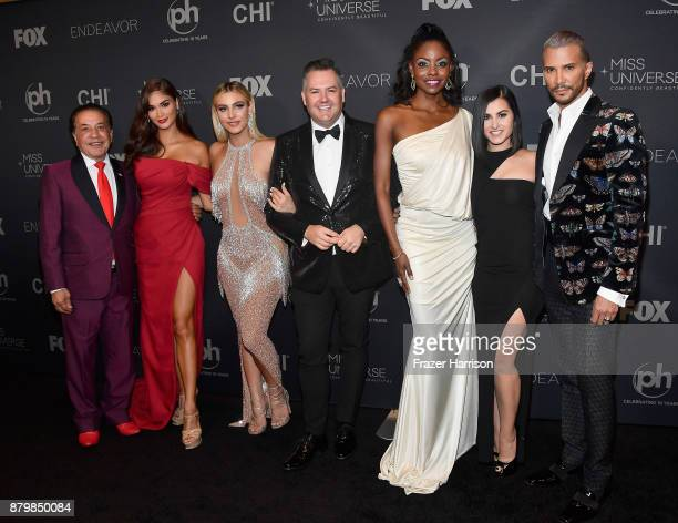 Farouk Systems founder Farouk Shami Miss Universe 2015 and pageant judge Pia Alonzo Wurtzbach Internet personality and pageant judge Lele Pons...