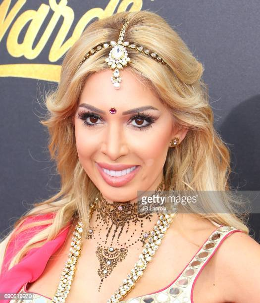 Farrah Abraham attends the 2017 MTV Movie and TV Awards at The Shrine Auditorium on May 7 2017 in Los Angeles California