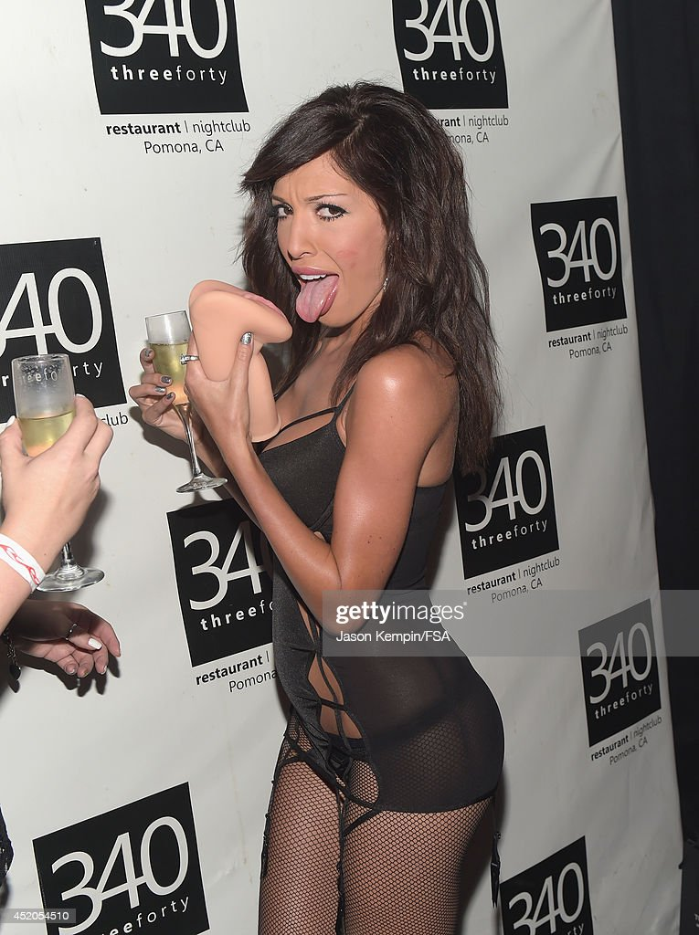 Farrah Abraham attends the launch party for her new intimate line at 340 Restaurant & Nightclub on July 11, 2014 in Pomona, California.