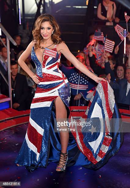 Farrah Abraham enters the Celebrity Big Brother house at Elstree Studios on August 27 2015 in Borehamwood England