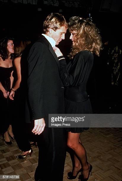 Farrah Fawcett and Ryan O'Neal circa 1981 in New York City