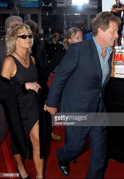 Farrah Fawcett and Ryan O'Neal during 'Malibu's Most Wanted' Los Angeles Premiere at Graumans Chinese Theater in Hollywood California United States
