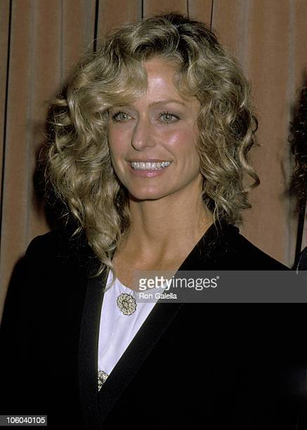 Farrah Fawcett during 34th Annual Genii Awards at Beverly Hilton Hotel in Beverly Hills California United States