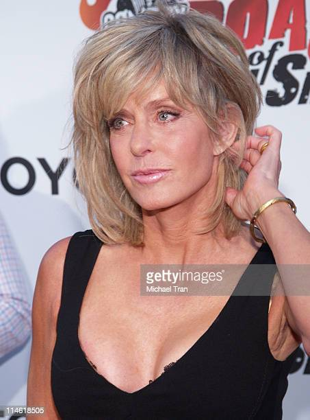 Farrah Fawcett during Comedy Central's Roast of William Shatner Arrivals at CBS Studio Center in Studio City California United States