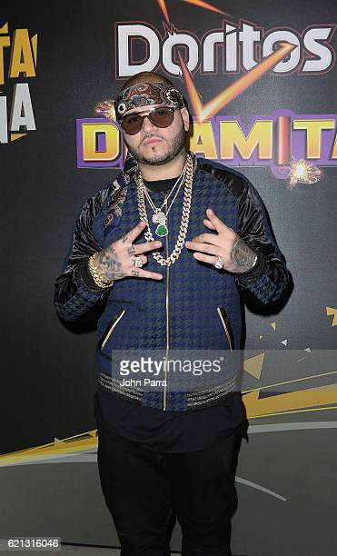Farruko is seen backstage at iHeartRadio Fiesta Latina at American Airlines Arena on November 5 2016 in Miami Florida