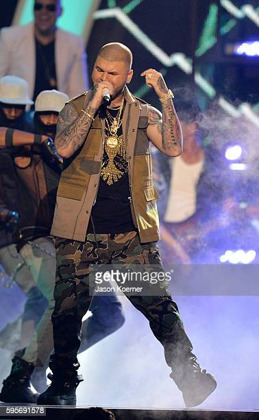 Farruko onstage at Telemundo's Premios Tu Mundo 'Your World' Awards at American Airlines Arena on August 25 2016 in Miami Florida