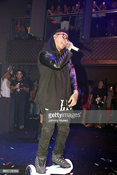 Farruko performs at Stage 48 on August 25 in New York City