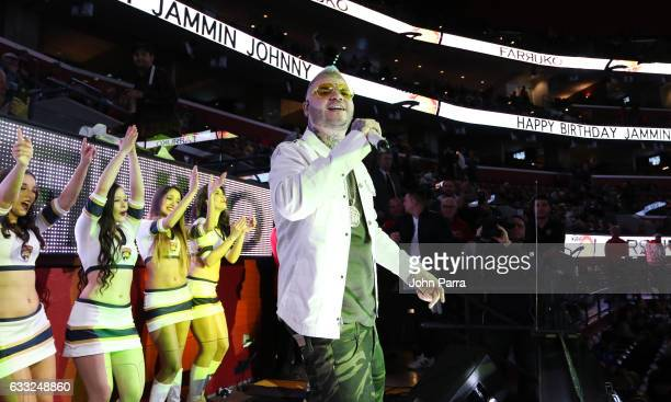 Farruko performs for Jammin Johnny's 50th Birthday Celebration and Concert at BBT Center on January 31 2017 in Sunrise Florida