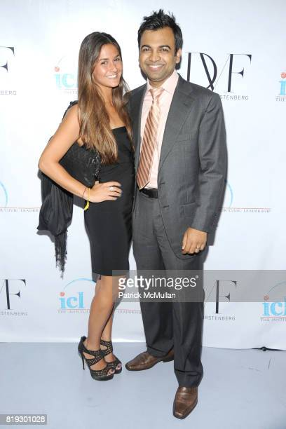 Farryn Weiner and Daren Khairule attend INSTITUTE FOR CIVIC LEADERSHIP 2010 Spring Benefit at DVF Studio on June 15 2010 in New York City