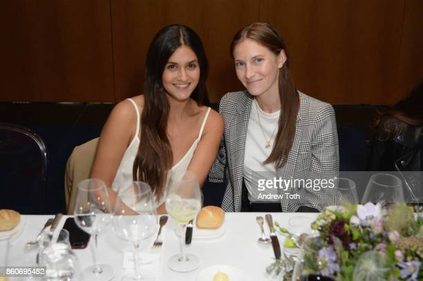 Faryn Weiner and Mallory Schlau attend as Harper's BAZAAR and THE OUTNETCOM Celebrate the opening of MoMA's Fashion Exhibit 'Is Fashion Modern' at...