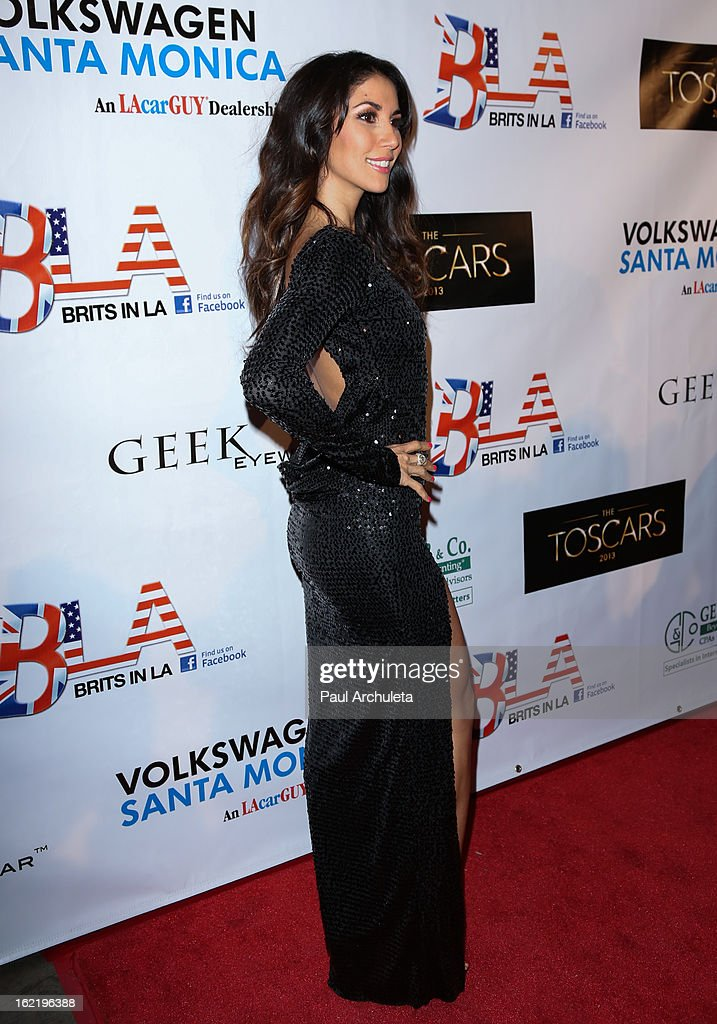 Fashin Desinger / Model Leilani Dowding attends the 6th annual Toscar Awards at the Egyptian Theatre on February 19, 2013 in Hollywood, California.