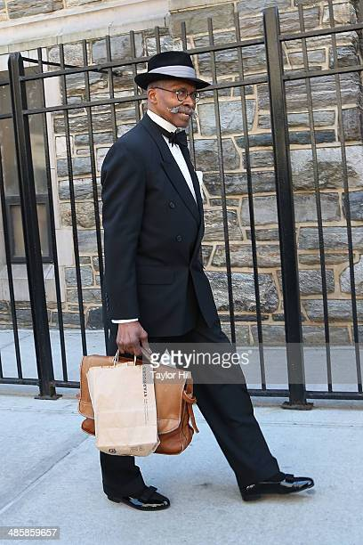 Fashion at Abyssinian Baptist Church in Harlem as seen on Easter Sunday on April 20 2014 in New York City
