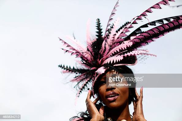 Fashion at Cheltenham racecourse on March 11 2015 in Cheltenham England