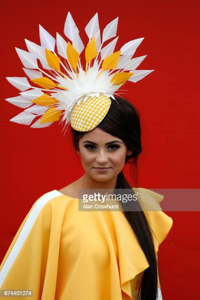 Fashion at Punchestown racecourse on April 28 2017 in Naas Ireland