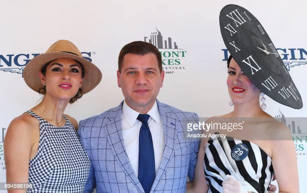 Fashion beauty and lifestyle blogger Lara Eurdolian contributor at Huffington Post Tom Murro and winner of the Longines Most Elegant Woman fashion...