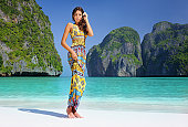 Fashion Beauty, Maya Bay, PhiPhi Islands, Thailand (XXXL)