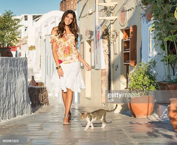Fashion Beauty, Santorini