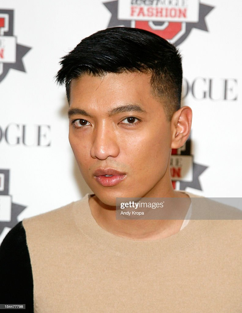 Fashion blogger Bryan 'Bryanboy' Grey Yambao attends the 7th Annual Teen Vogue Fashion University at the Conde Nast building on October 20, 2012 in New York City.