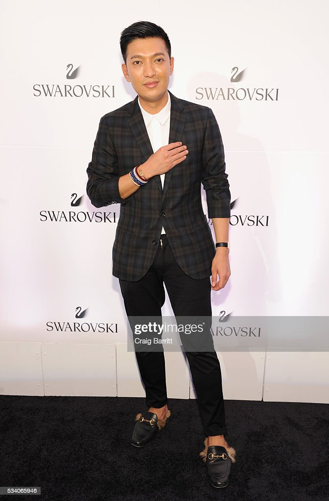 Fashion blogger Bryanboy attends Swarovski #bebrilliant at The Weather Room at the Top of the Rock on May 24, 2016 in New York City.