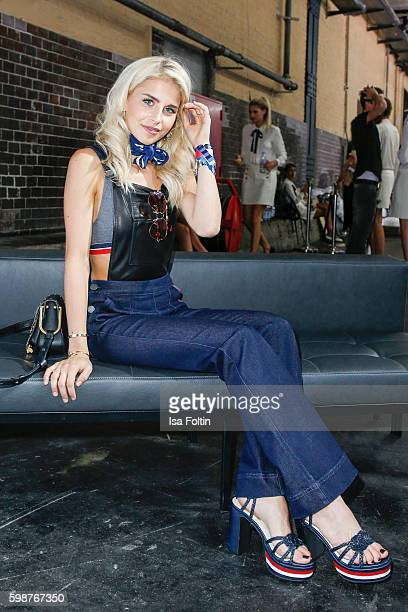 Fashion Blogger Caro Daur attends the Bread Butter by Zalando at arena Berlin on September 2 2016 in Berlin Germany