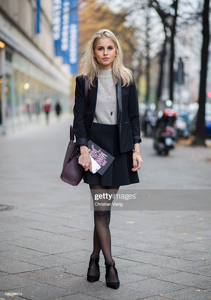 Street Style In Berlin November 5 2015 Getty Images