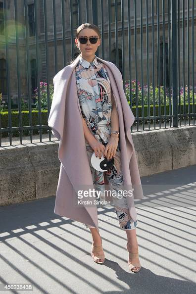 Fashion Blogger Christina Balzan is wearing a Chloe jacket MM6 by Maison Martin Margiela outfit Wayne shoes Dior sunglasses and Charlotte Olympia bag...