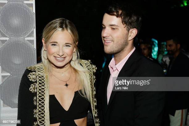 Fashion Blogger Danielle Bernstein and Andrew Warren attend The Museum of Modern Art's Party in the Garden at MOMA on June 5 2017 in New York City