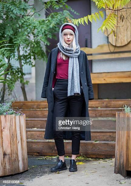 Fashion Blogger Ebba Zingmark on October 17 2015 in Berlin Germany