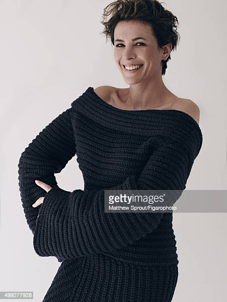 Fashion blogger Garance Dore is photographed for Madame Figaro on September 25 2015 in New York City Dress PUBLISHED IMAGE