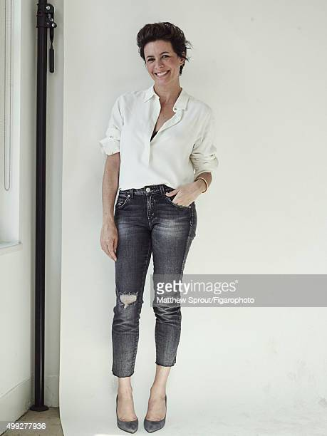 Fashion blogger Garance Dore is photographed for Madame Figaro on September 25 2015 in New York City