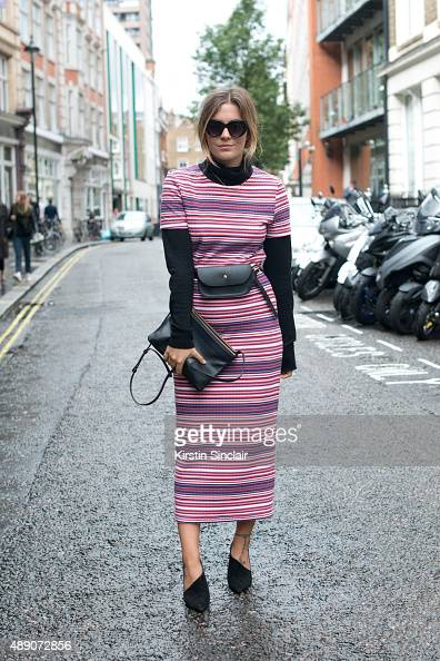 Fashion Blogger Hannah Cox wears a Topshop dress Primark poloneck sweater Celine bag Wallace shoes Missguided purse and Asos sunglasses on day 1...