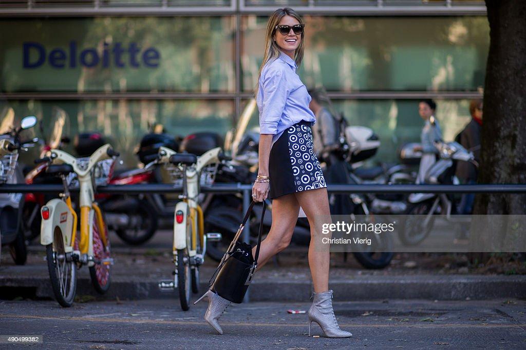 Street Style: Day 3 - Milan Fashion Week SS16