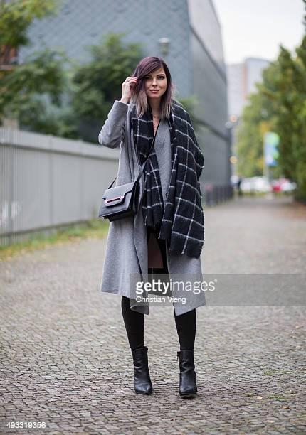 Fashion Blogger Jana Wind on October 17 2015 in Berlin Germany