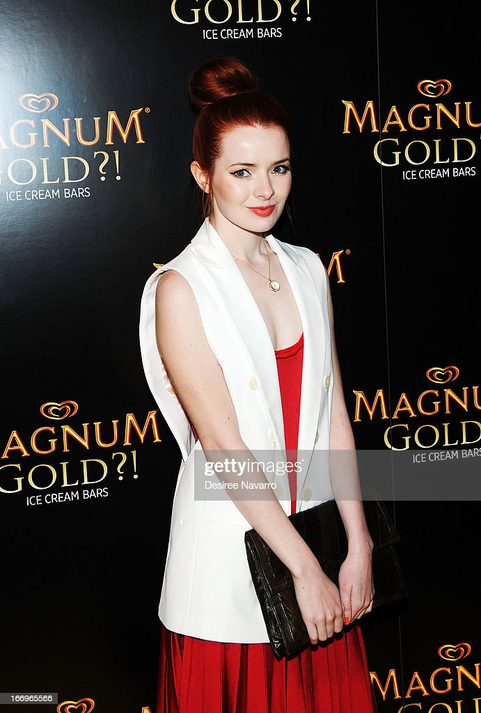 Fashion blogger Jane Aldridge attends the screening of 'As Good As Gold' during the 2013 Tribeca Film Festival at Gotham Hall on April 18, 2013 in New York City.