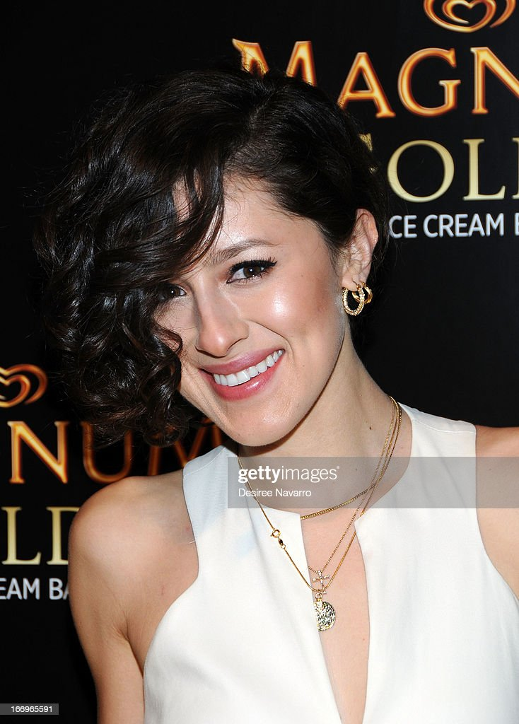 Fashion blogger Karla Deras attends the screening of 'As Good As Gold' during the 2013 Tribeca Film Festival at Gotham Hall on April 18, 2013 in New York City.