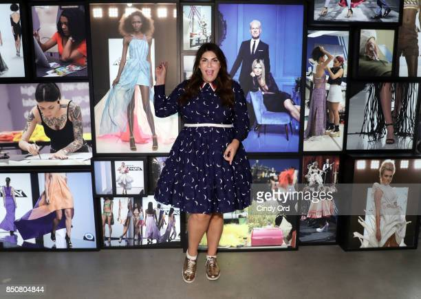 Fashion Blogger Katie Sturino helped Madame Tussauds New York open its Project Runway Experience featuring a new Heidi Klum wax figure on September...