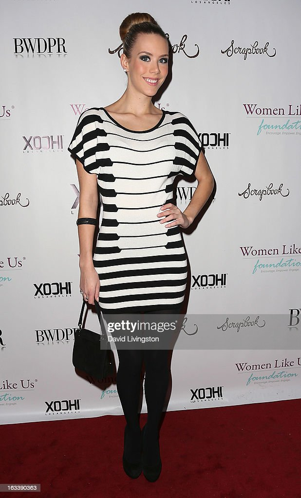 Fashion blogger Kier Mellour attends a Pre-LAFW benefit in support of the Women Like Us Foundation at Lexington Social House on March 8, 2013 in Hollywood, California.