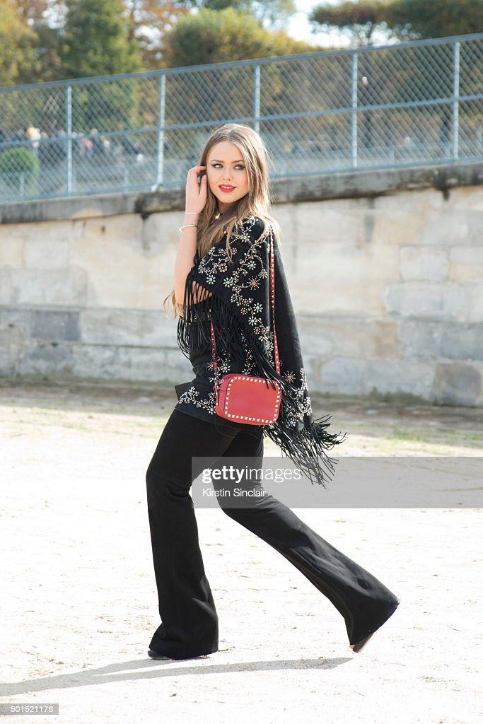 Street style paris fashion week womenswear spring summer 2016 day eight - Zara paris collection ...