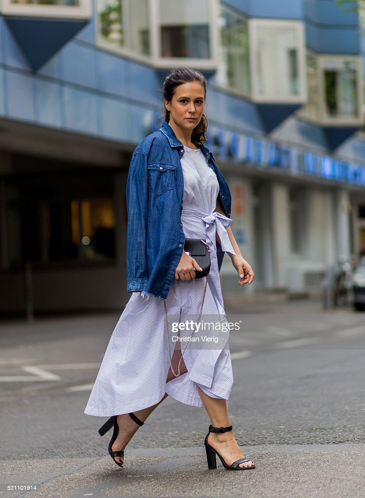 Street Style In Cologne April 2016 Getty Images
